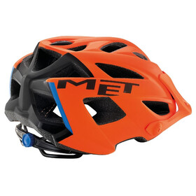 MET Terra Helm matt orange/black/blue